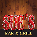Sues Bar and Grill Mobile Retina Logo