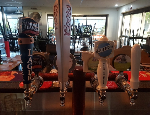 Specialty beers on tap at Sue's Bar & Grill